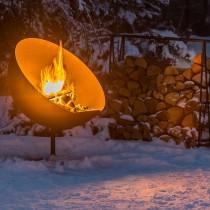 brasero barbecue feu du jardin lune. Black Bedroom Furniture Sets. Home Design Ideas