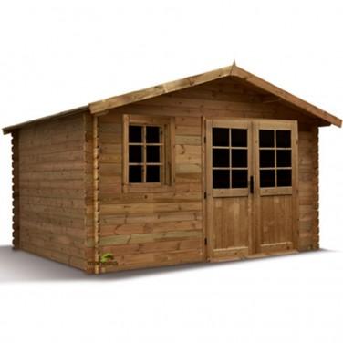 abri de jardin en bois solid stockholm. Black Bedroom Furniture Sets. Home Design Ideas