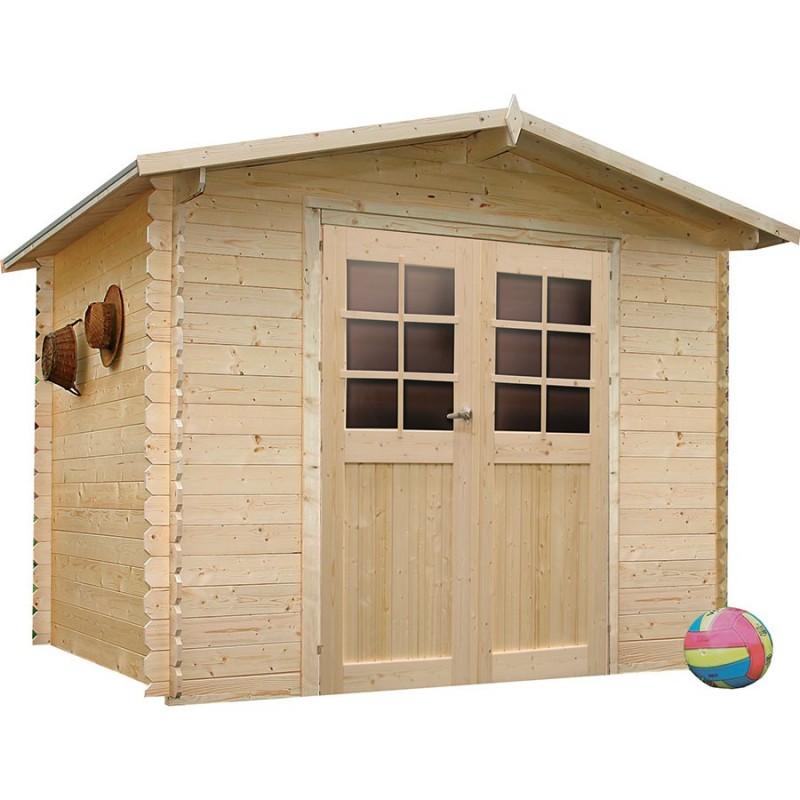 abri de jardin en bois embo t solid amberg. Black Bedroom Furniture Sets. Home Design Ideas