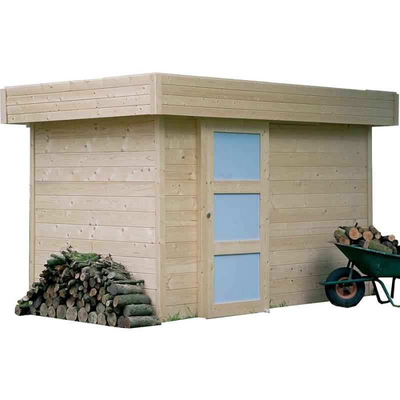 Abri de jardin en bois solid oslo for Cendre de bois au jardin