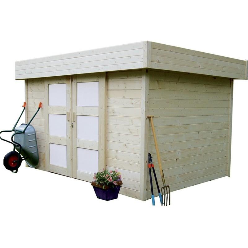 Abri de jardin en bois solid stockholm for Abris jardin bois
