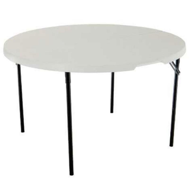 Table ronde pliable LIFETIME Ø122 cm