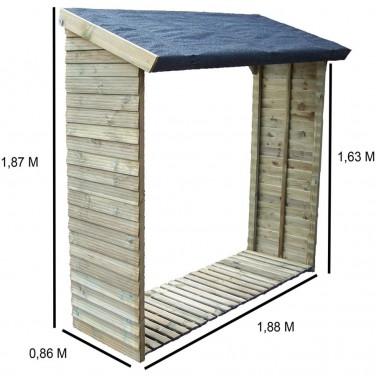 abri b ches 10 st res de bois. Black Bedroom Furniture Sets. Home Design Ideas