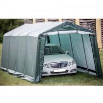 abri de jardin en toile renforc e et toit double pente. Black Bedroom Furniture Sets. Home Design Ideas