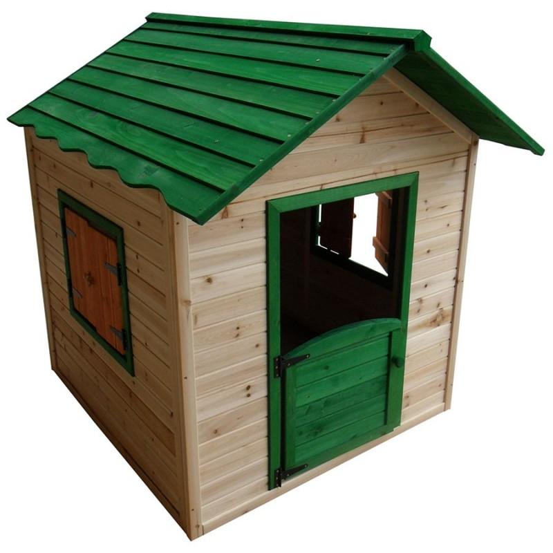 Maisonnette en bois pour enfant