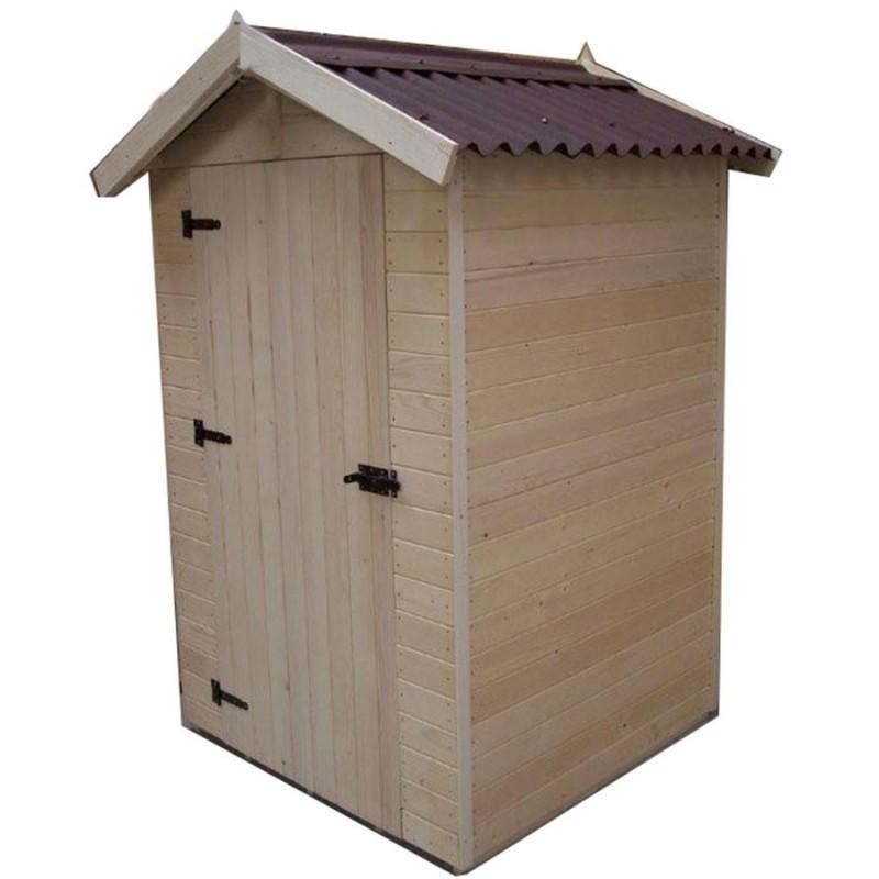 abri de jardin 2m avec plancher bois et toiture en plaques ondul es. Black Bedroom Furniture Sets. Home Design Ideas