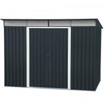 abri de jardin m tal duramax skylight. Black Bedroom Furniture Sets. Home Design Ideas