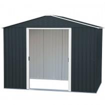 abri de jardin m tal duramax titan. Black Bedroom Furniture Sets. Home Design Ideas