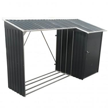abri buches buchers la meilleur protection pour votre bois de chauffe. Black Bedroom Furniture Sets. Home Design Ideas